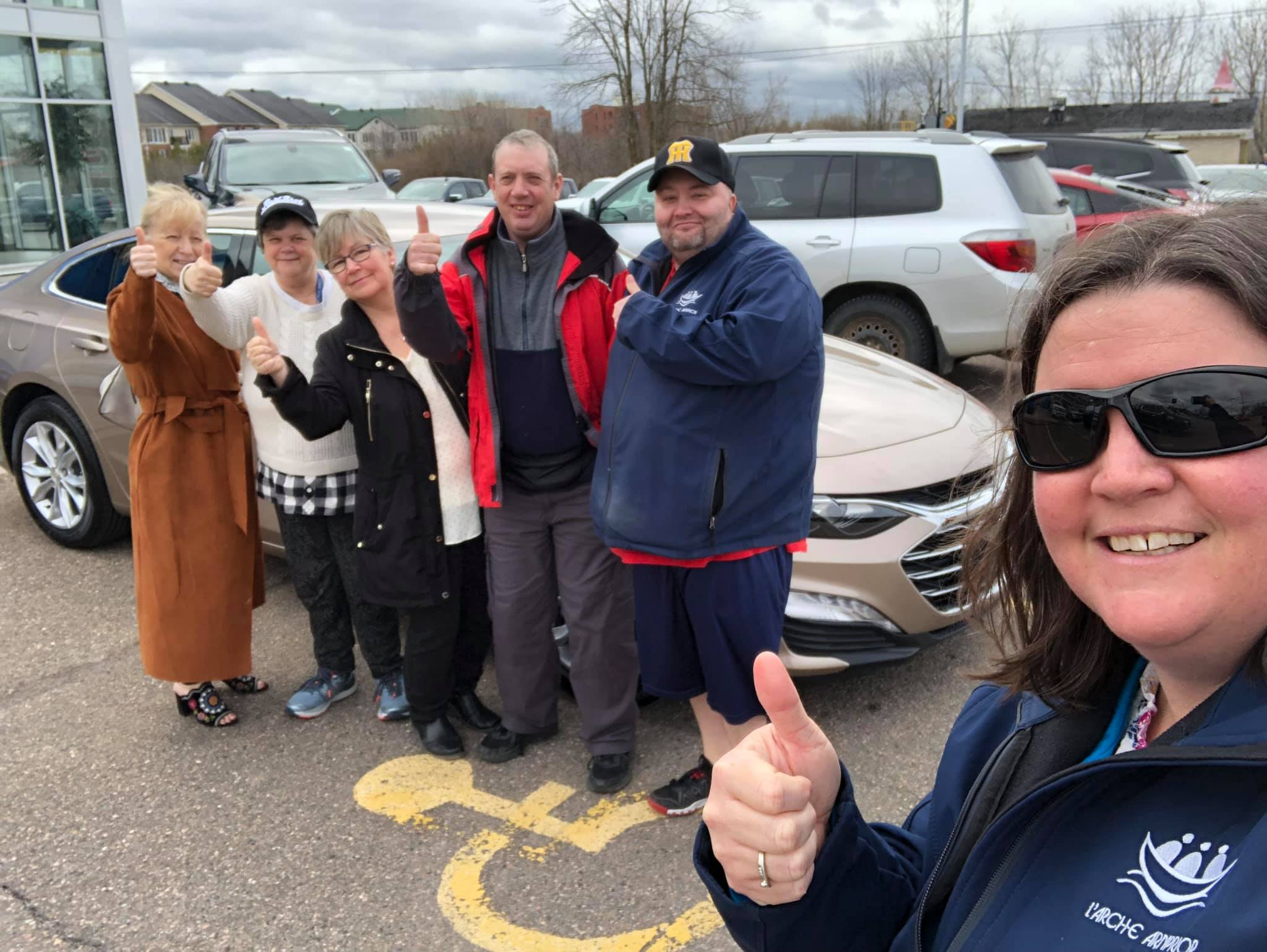 Thanks to your contributions, in April 2019 L'Arche Arnprior was able to buy a car for our community!