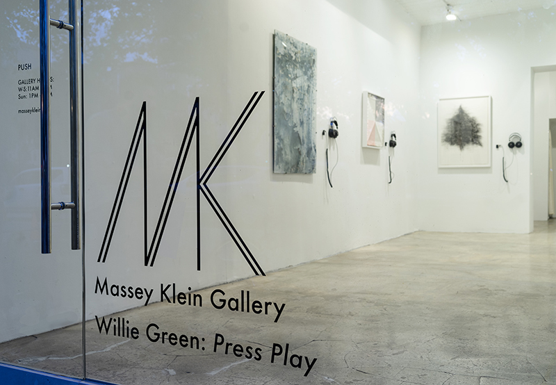 Press Play - A musical and visual exhibition curated and produced by Willie Green.