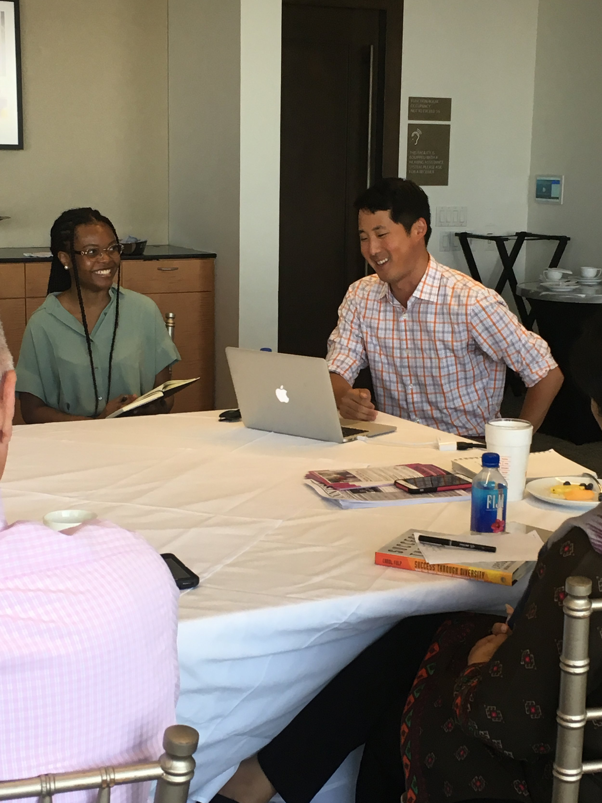Justin Kang, VP of the Greater Boston Chamber of Commerce and Founder of City Awake  shares his presentation and findings on City Awake's initiatives  with CAP fellows
