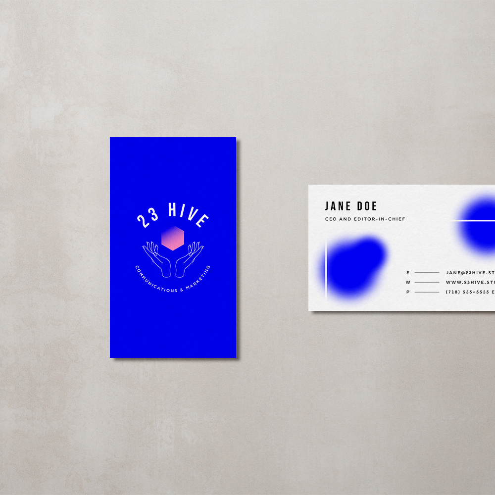 23 hive - logo design, brand development