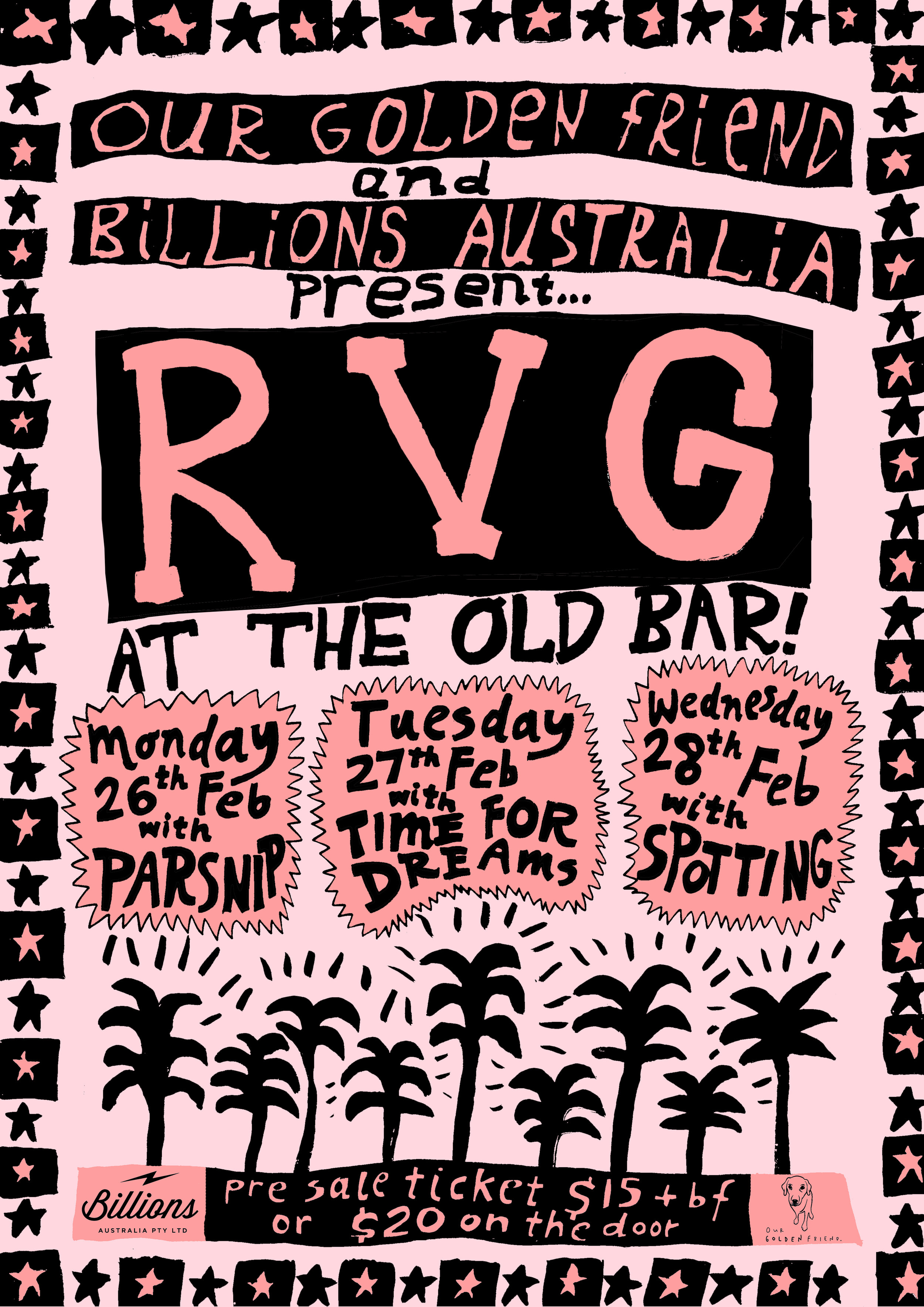 RVG poster, 2018