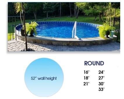 Radiant Pools Texas Cool, Radiant Semi Inground Pool Reviews