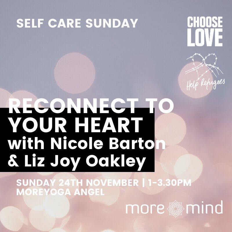 Reconnect to Your Heart with Yin - Sunday 24th November, 1pm-3.30pmMore Yoga, AngelLONDON