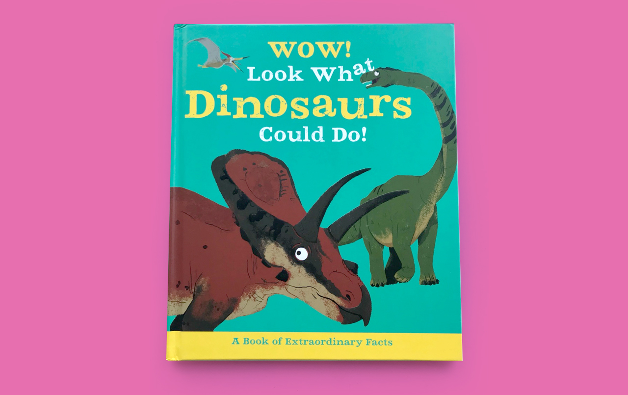 WOW! Dinosaurs Book Cover