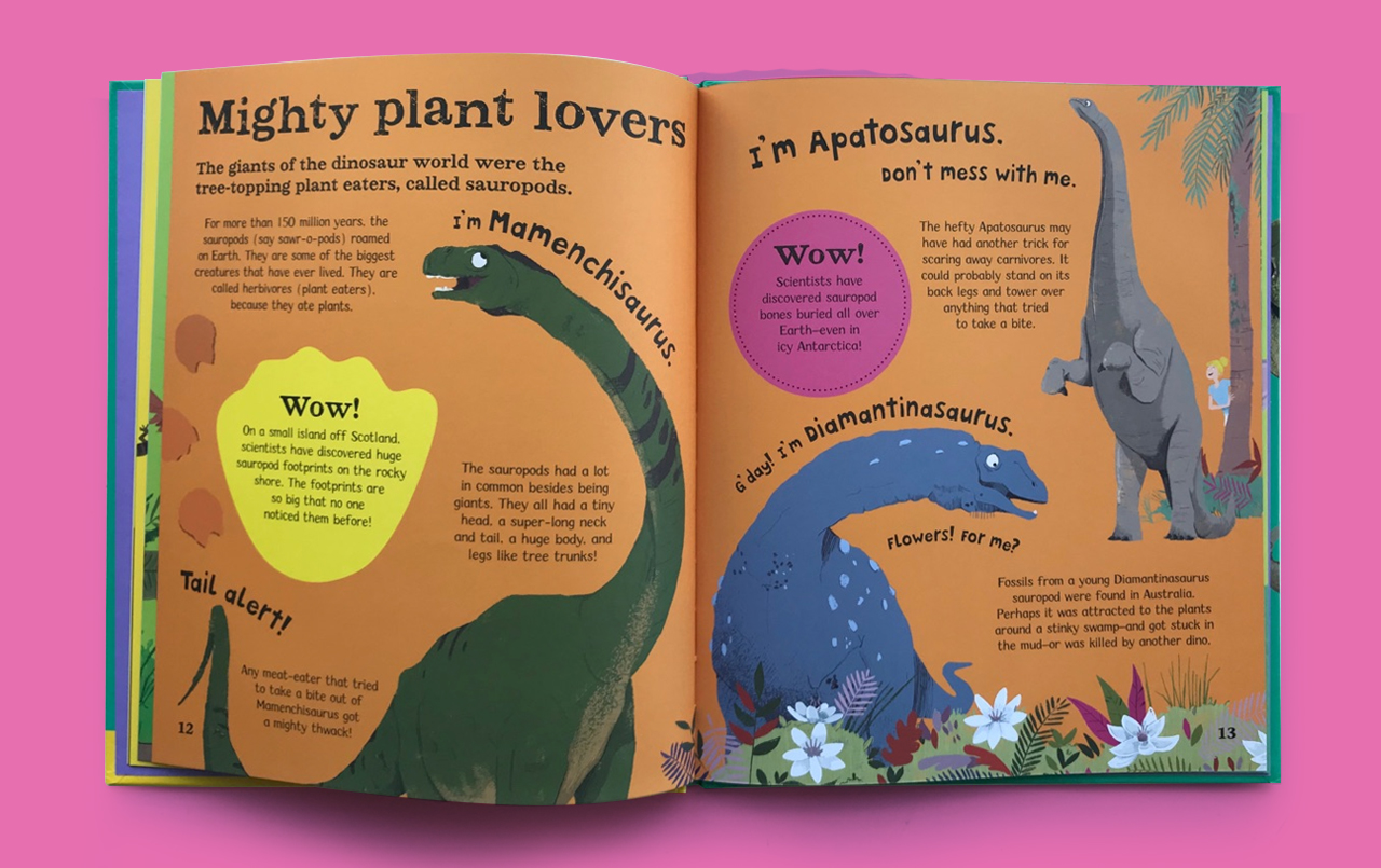 WOW! Dinosaurs - Mighty Plant Lovers