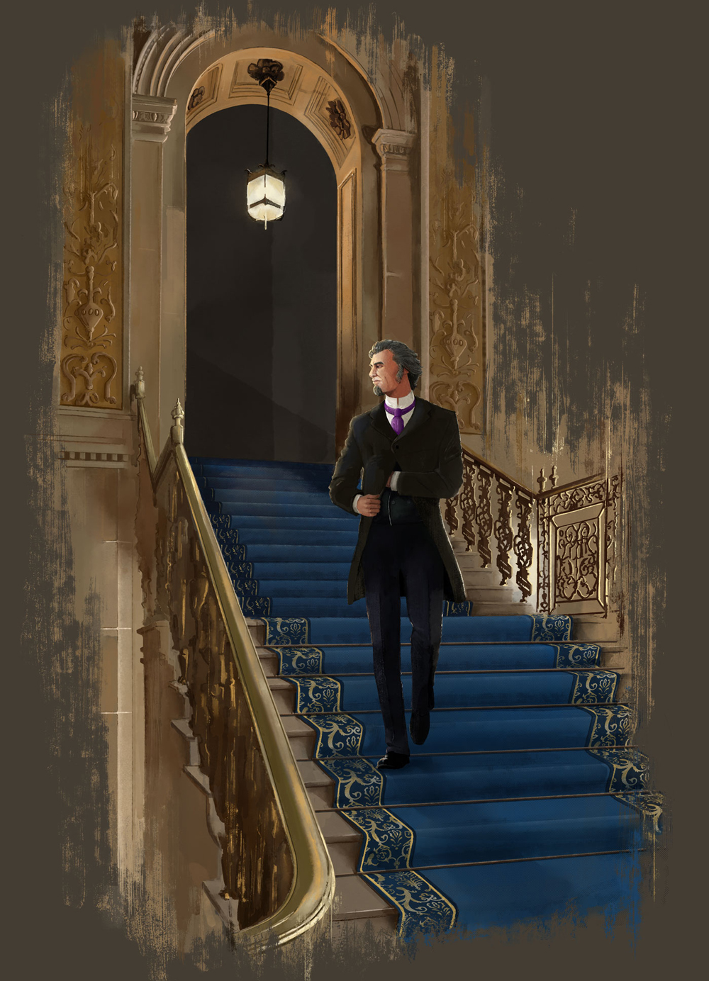 Professor James Moriarty Illustration