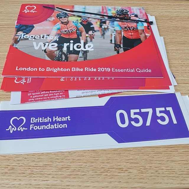 ♥️♥️♥️ This coming Sunday, 16 June, I'll be taking part in The British Heart Foundation's @the_bhf London to Brighton Bike Ride. I will be cycling 54 miles to raise as much money as possible towards this worthy cause. Please show your support 🙏 The link to my @justgiving page is featured in my bio, but I've copied it here for ease:  https://www.justgiving.com/fundraising/stevenxedwards01  #londontobrighton #bike #ride #cycle #londontobrightonbikeride #bhf #britishheartfoundation #justgiving #charity