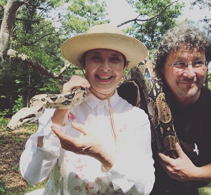 Crazy Creatures workshop - Eric Powers of Long Island's CEED is an extraordinary animal whisperer. Here's Isabella holding his gentle boa constrictor at last summer's festival. Come touch, inspect and respect some of his unusual live creatures. All ages.