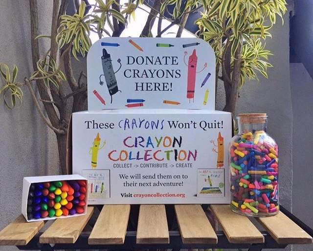 Color Kindness Event - Have you seen these Crayons Won't Quit boxes around town?As Crayon Collection's first Ambassador on the East Coast, we are proud to be working with Suffolk County's local libraries, restaurants, and stores to collect gently used crayons that would otherwise be discarded in landfills.An exciting next step in the Crayon Recycling Program is to host a Color Kindness Event at our festival. Drop in to help us bundle about 10-12 crayons in a rainbow of colors into a small pouch and include a hand-written note of positivity. We will donate these beautiful bags of up-cycled crayons to local schools and students who can put them to good use. All ages.
