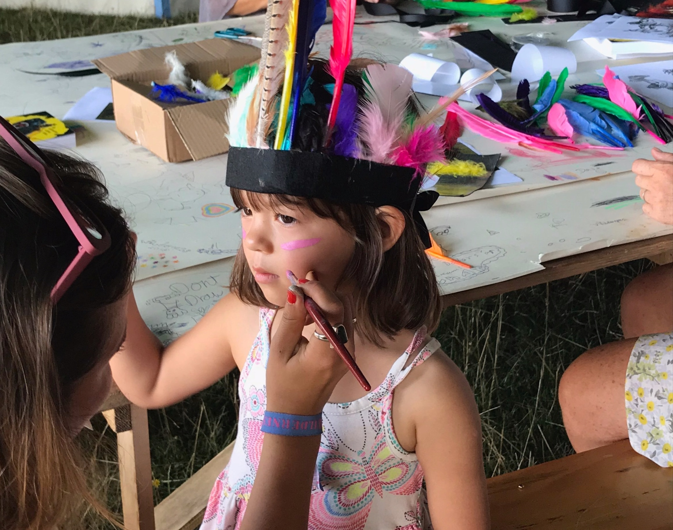Fantastic Feathers with StoryStock - Make like the Wild Things and get creative in this fabulous headdress making workshop so you are all ready for the big parade finale. For all ages.