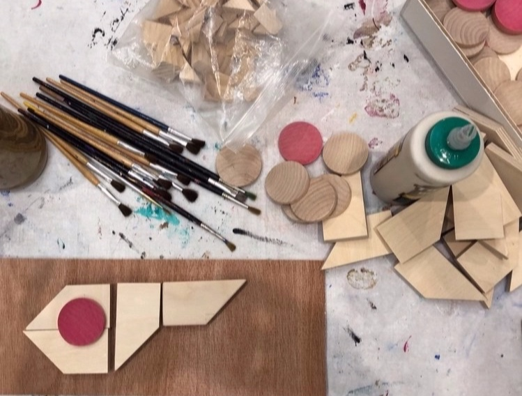 Wood working with Little Miss Workbench - Younger children will work with prefabricated and unassembled pieces, while older children will create pieces using various hand tools. Ages 5 and up.