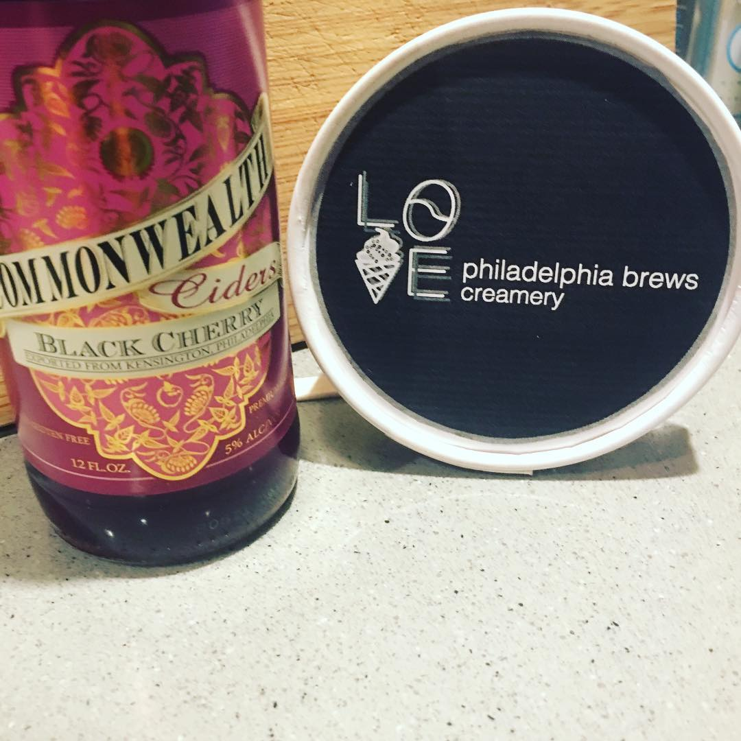 Philadelphia Brewing Company - Black Cherry Cider -