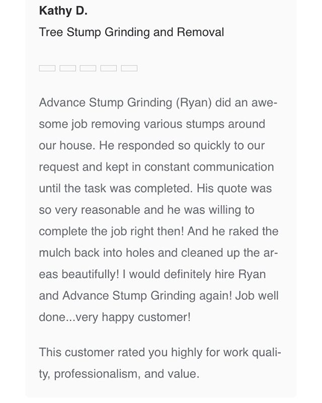 Another satisfied client!