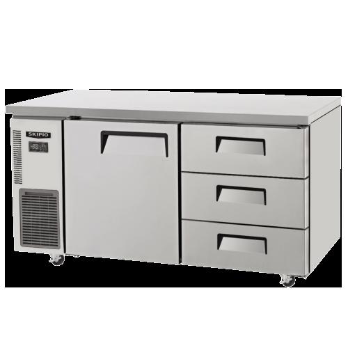 SUR12-3D-3  Undercounter refrigerator w/ 3-drawer