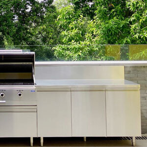 Outdoor Stainless Steel Cabinet