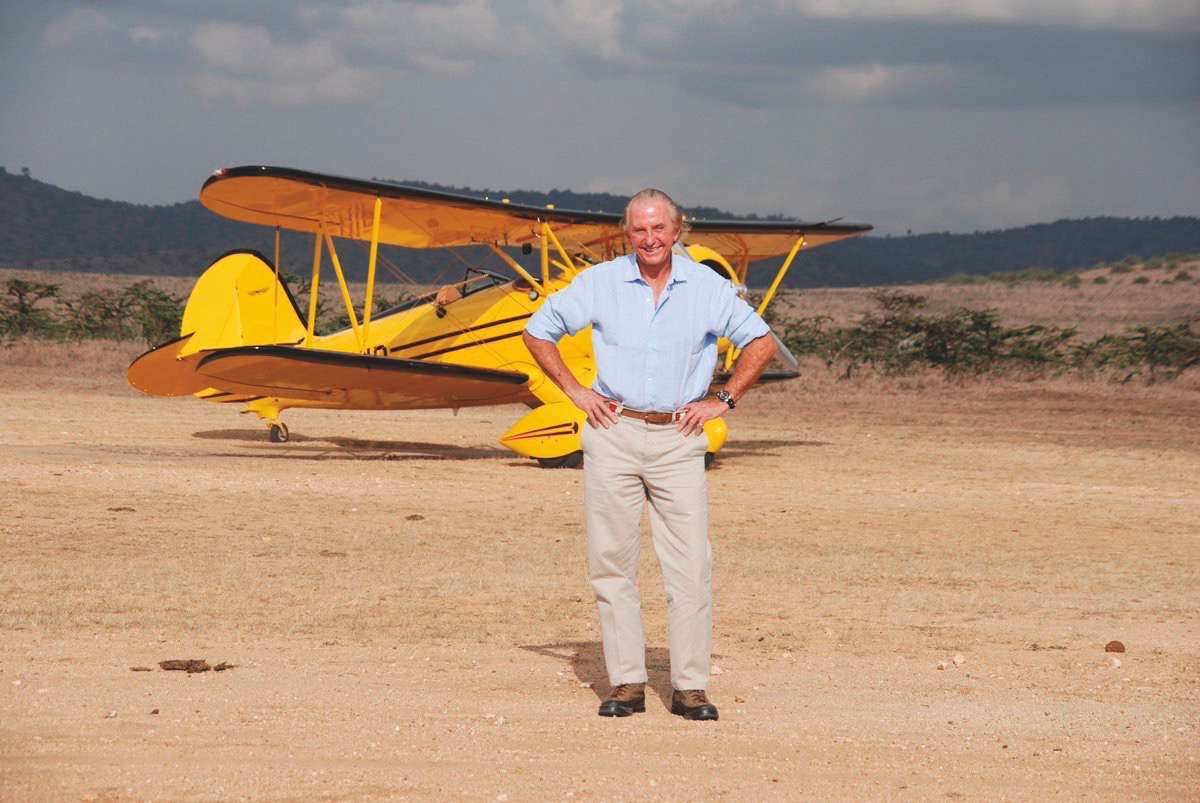 Geoffrey Kent - The luxury-safari pioneer is still going strong.Man of the World, 2015.