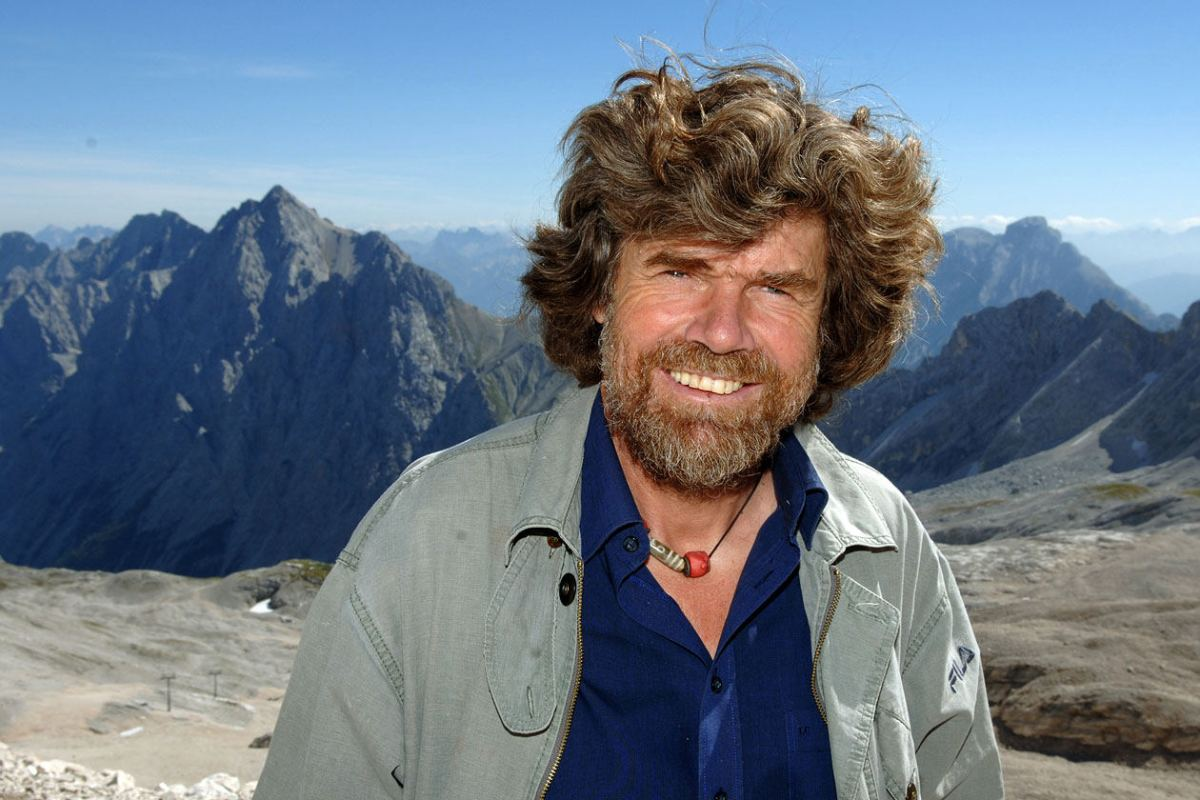 REINHOLD MESSNER - The Italian mountaineering icon is into building museums now. Also, movies.Man of the World, 2015.
