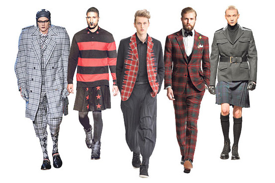 the scottish are coming! - Why designers are looking to the land of kilts and tartan.Wall Street Journal, 2012.