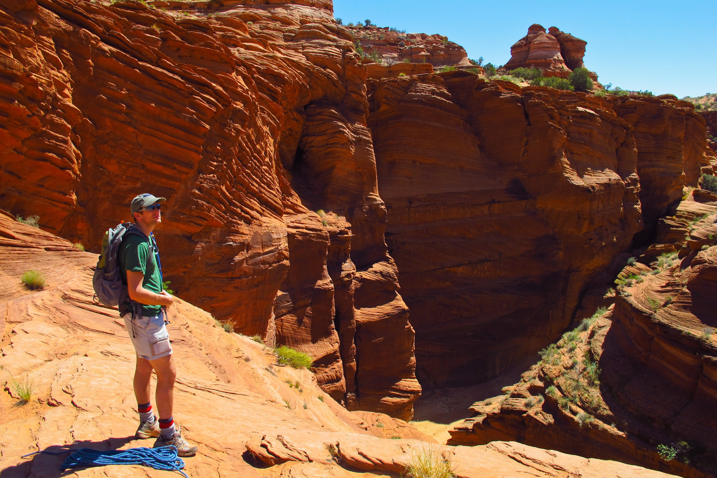 UTAH: A 48-hour canyoning adventure - Fast-paced fun in the American Southwest.Financial Times / How To Spend It, 2012.
