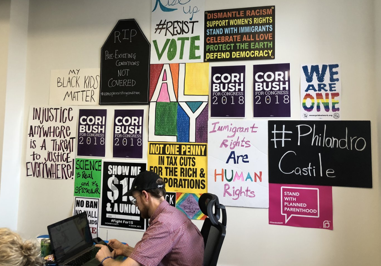 Support our Office Staff - To win in 2020, we need a strong team to support the campaign. Consider giving a one-time or a recurring contribution to sustain our staff.