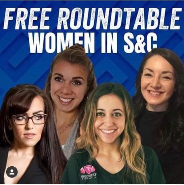 Stronger Experts: Women in S&C