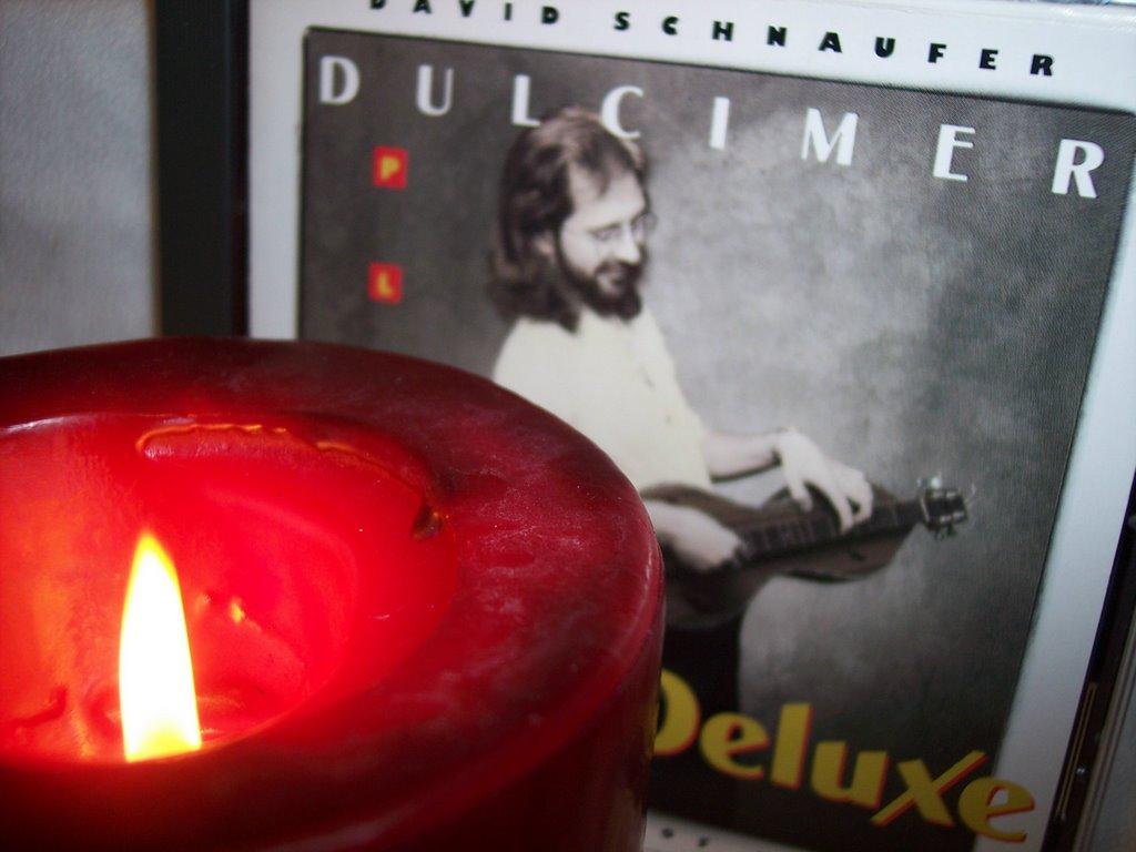 """Cover of David's cassette tape release, """"Dulcimer Deluxe""""."""