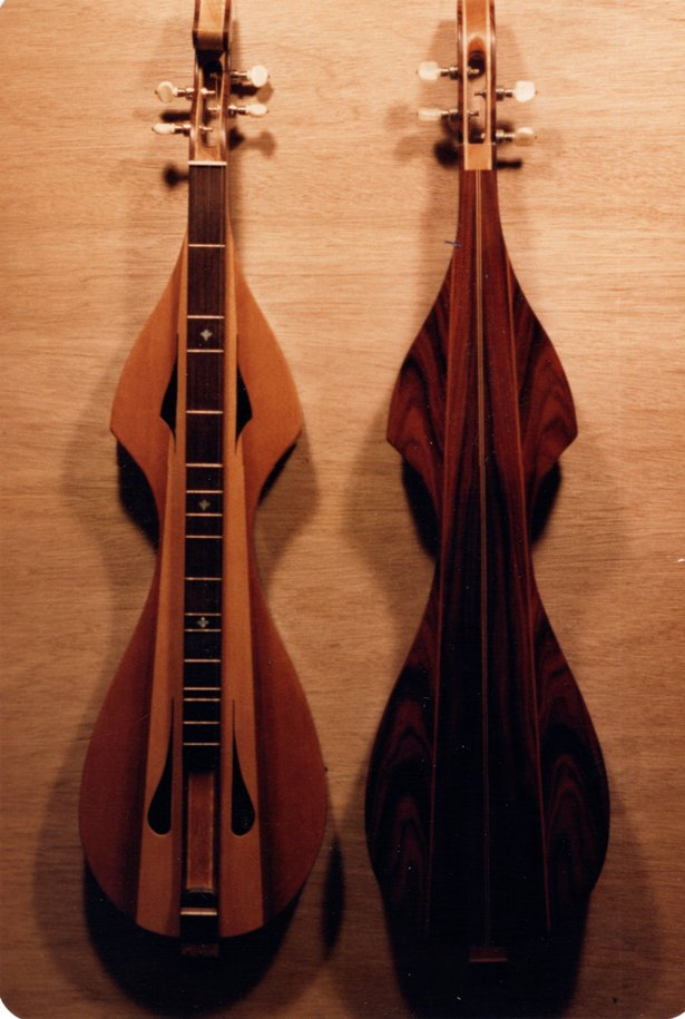 "Gil's ""Designer"" model dulcimer similar to the one purchased for John Denver"
