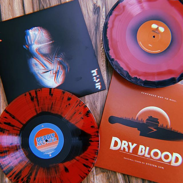 """What an excellent mail day from my dudes over at @burningwitchesrecords. Both of these pressings are beyond beautiful. ⠀⠀⠀ ⠀ """"Your God Is Too Small,"""" the new @deadlyavenger album, has been extremely anticipated since hearing of the release as everything he does is 100% 🔥 ⠀⠀⠀ ⠀ The """"Dry Blood"""" score by @systemsyn is something I've not yet heard but am EXTREMELY excited to spin, like... right now! ⠀⠀⠀ ⠀ #vinyl #vinylcollector #vinylcollective #instavinyl #vinyl #records #vinyljunkies #vinylingclub #music #nowplaying #nowspinning # love #instagood #instamusic #photooftheday #hailsatan #me  #listeningparty #LP #sharingneedleswithfriends #snwfvinylclub #deadlyavenger #systemsyn"""