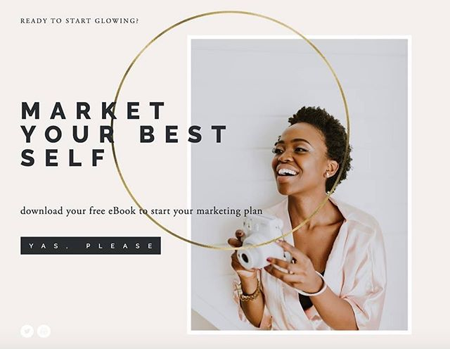 Follow your passions and market your best self! Download your FREE eBook (#linkinbio) to help you get started in marketing your personal brand & business.