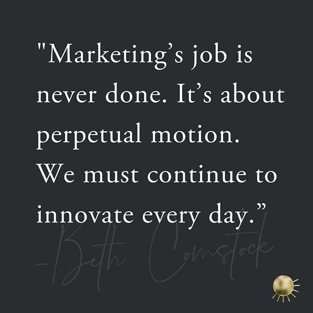 #FridayFeeling Here's to our fellow marketers...let's keep innovating everyday!