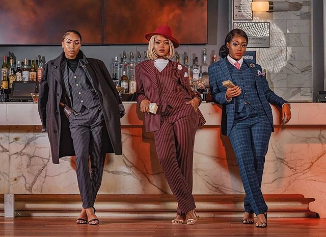 #repost @williamssophia15 #inspiredbyher ・・・ Boss ladies didn't come to play. Planning the next move. Scarface inspired shoot. .  Models @nanaminks @kristiatolode @nak.vaughn . Make up @makeupby_mimid @afroglambeauty . . . . . . . .  #blackwoman  #dramatic #instastyle  #fashionlover #outfitoftheday #lookoftheday #highspeedsync #offcameraflash #makeupaddict #godoxad600 #blackgirlmagic #makeupmess #music #instabeauty #suitandtie #instamakeup #photooftheday #adropunk #what_i_saw_in_nyc #scarface #ig_great_shots_nyc #black #nycphotographer  #nycmodel #canonphotos #money #canonrebel #canonphotographer