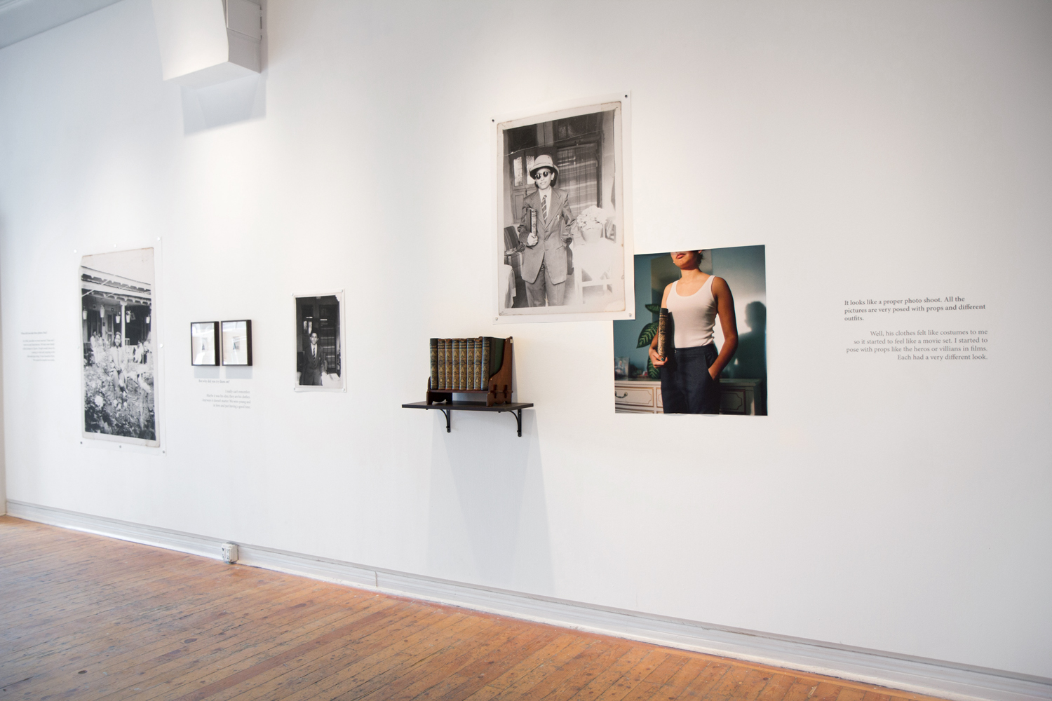 Installation View from solo show at Ryerson Artspace at the Gladstone Hotel, Toronto 2017. Photo courtesy of the artist.
