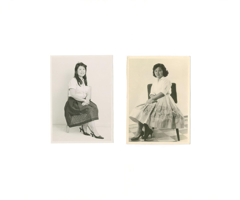 Caroline Chan, Pickering ON. Canada, 2012 Linda Eng, Hong Kong, 1957.
