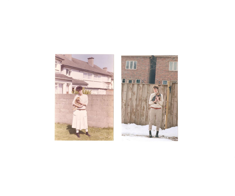 Hilary Roche, Dublin, Ireland. 1985 Daire Roche, Toronto, ON. 2013
