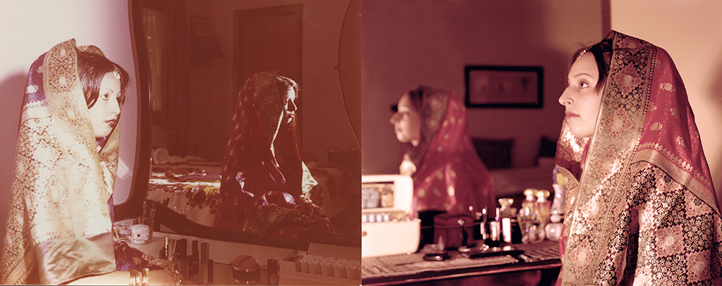 Rehana Naqvi, Karachi Pakistan 1978. Sabrina Naqvi, Pickering Canada, 2012.