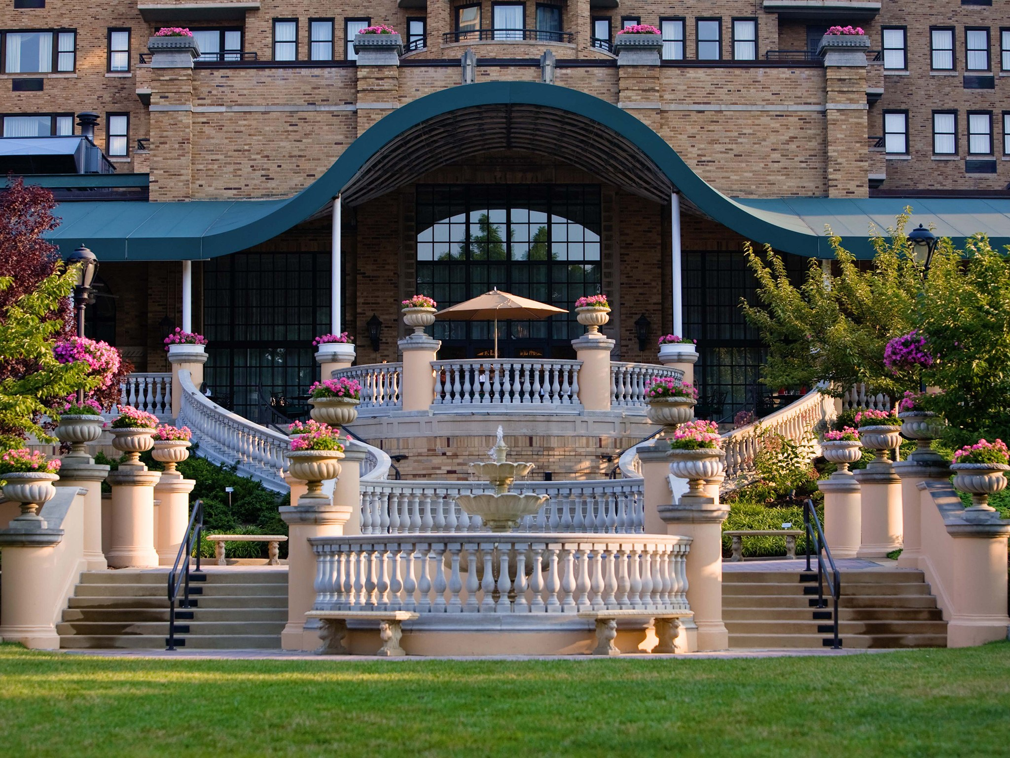 The historical Omni Shoreham Hotel in Washington, D.C.