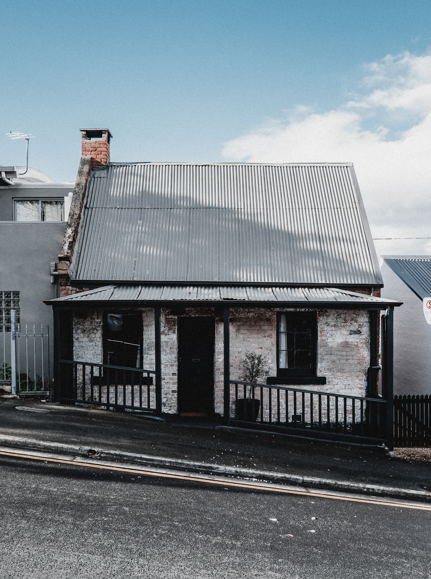 Captains Cottage, Hobart — Tasmania.