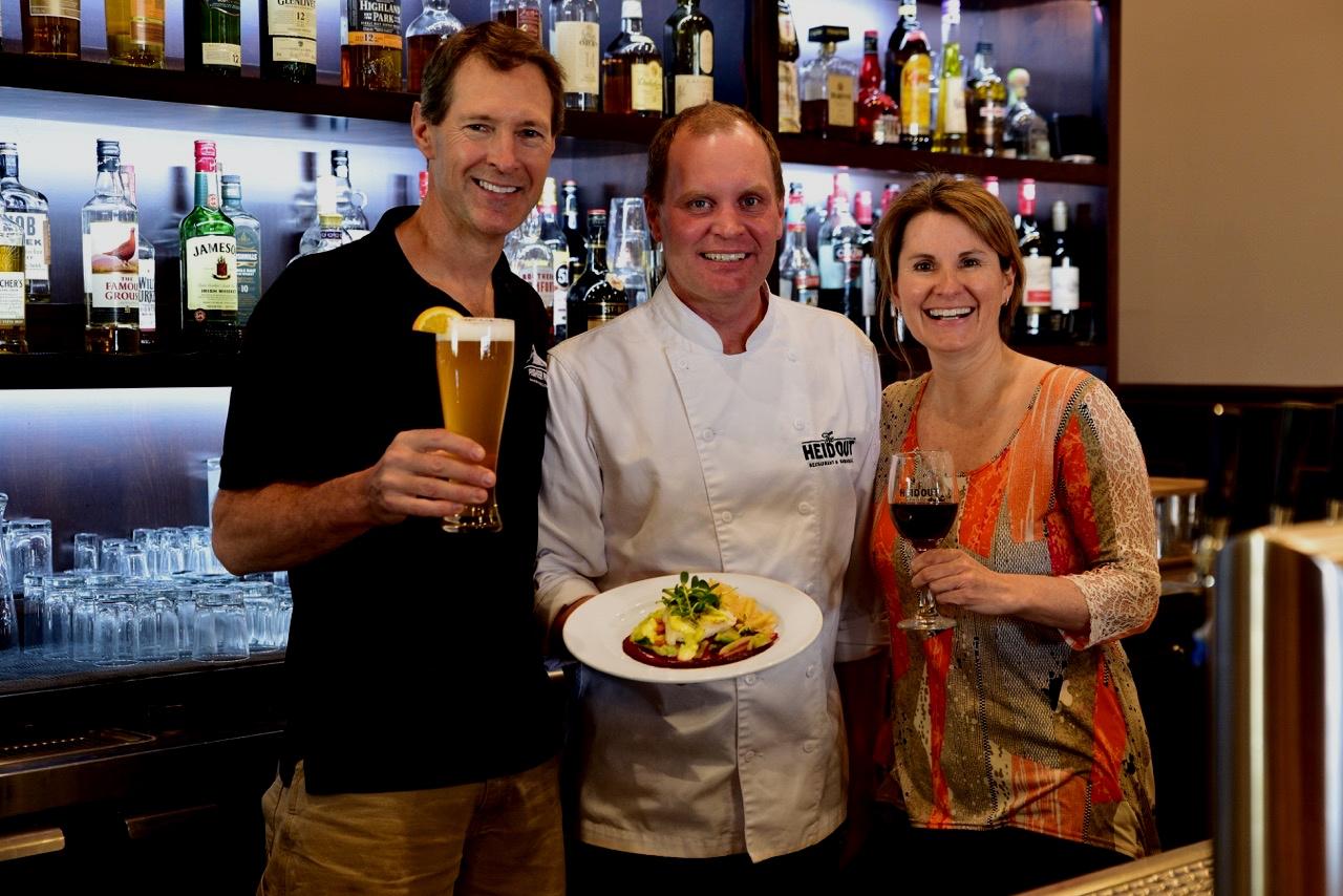 Bar with Jordon Rusty and Heidi drinks and food.jpeg
