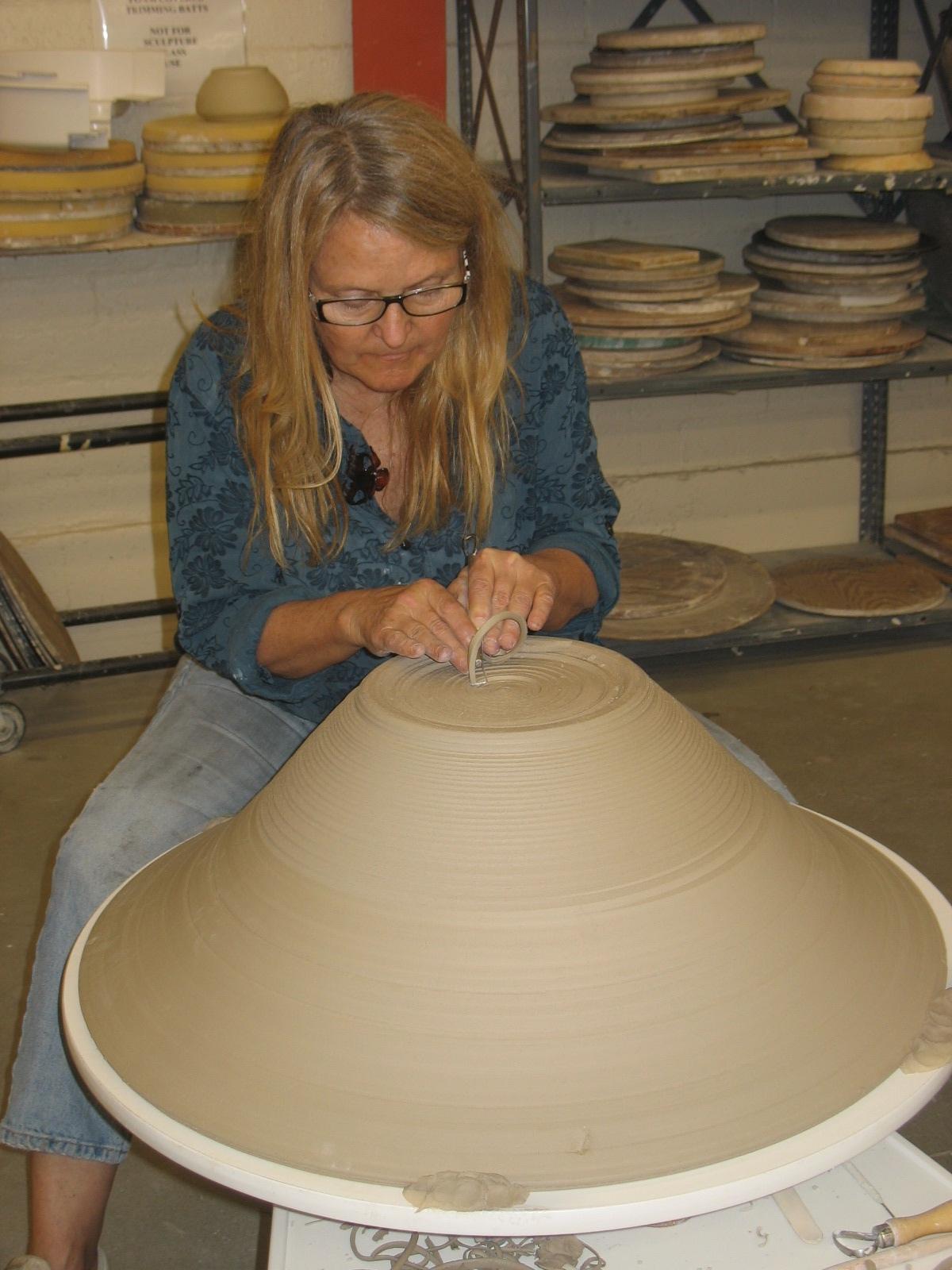 Trimming 20 pound bowl