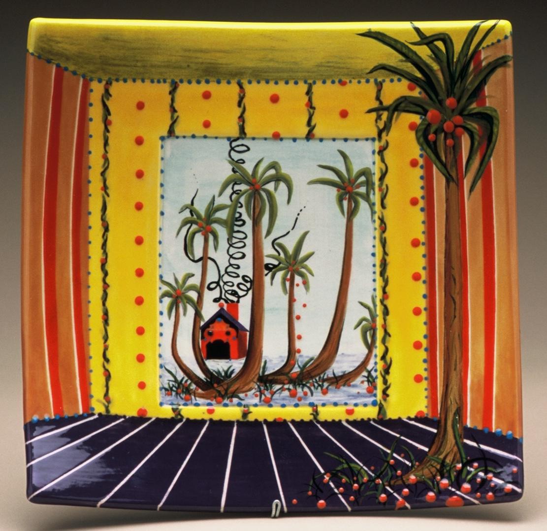 "Palm House Tray, 11"""
