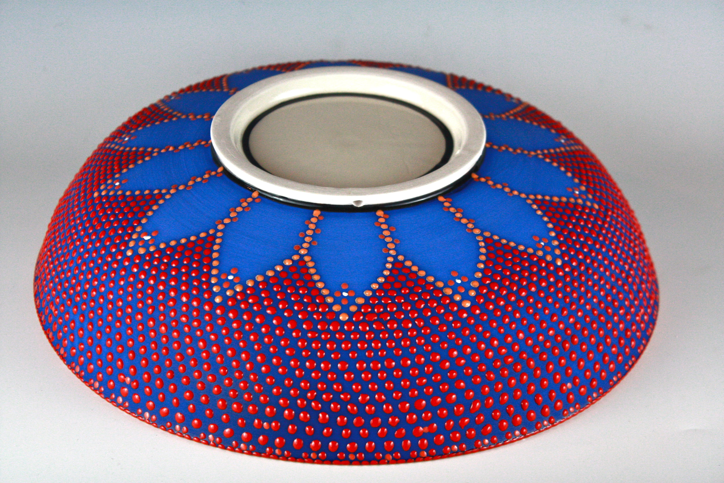 Yellow and Blue Bowl (under)