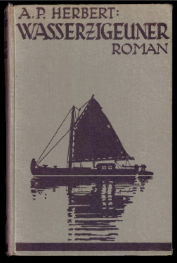 Figure 2. The Water Gypsies – Cover (1935)