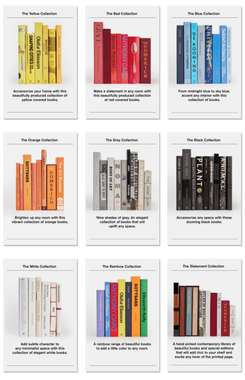 Figure 17. Collections for Interior Designs [screenshot]