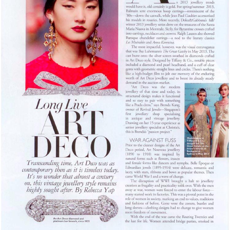 Harper Bazaar, January 2014