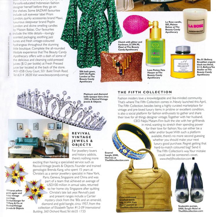 Harper's Bazaar, June 2014