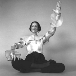 Diana Vreeland, the legendary Vogue editor and stylist.