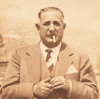 Mario Buccellati, the man nicknamed the Prince of Goldsmiths.