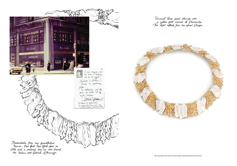 A slice of history from Buccellati's family archives, courtesy of Buccellati.com.