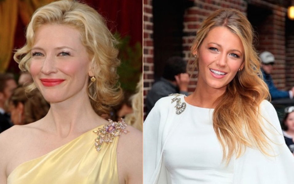 Cate Blanchett (left) and Blake Lively (right)