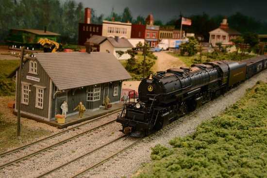 HO Scale Model Railroad